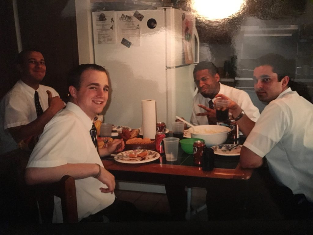 dinner missionaries