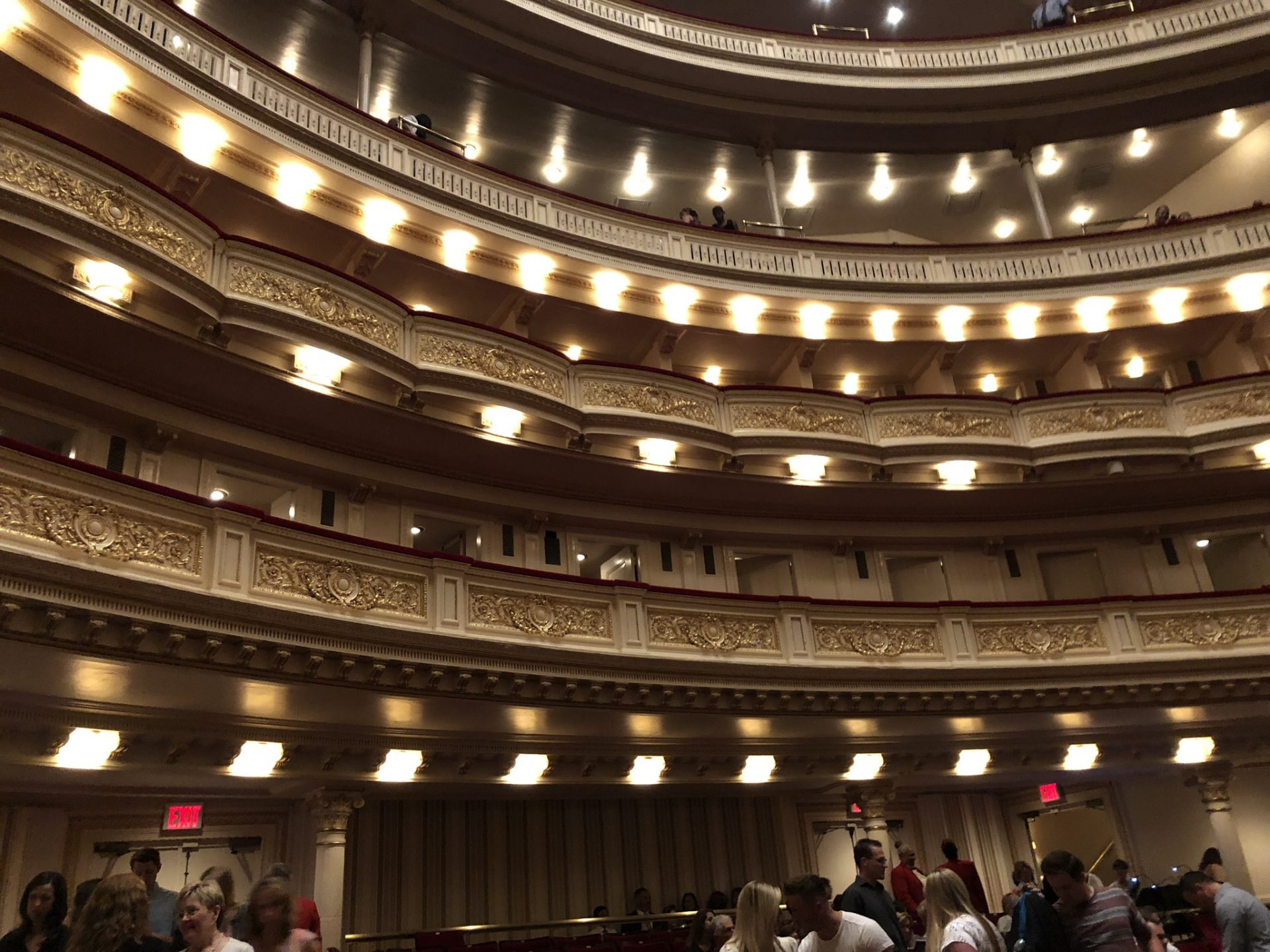first tier Carnegie hall
