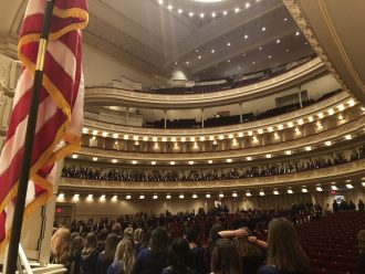 inside of carnegie hall